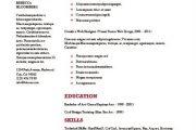 دانلود ۲۰ قالب رزومه حرفهای زبان انگلیسی ارائه شده توسط Envato  (ورد)