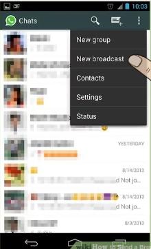 چگونه در واتساپ لیست انتشار ایجاد کنیم ؟