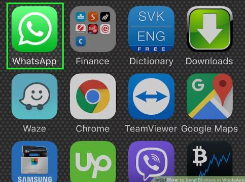 ارسال استیکر در واتساپ (متنوع و جذاب)