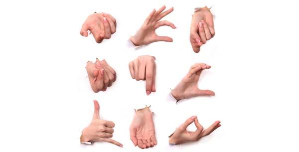 ۲۰ تا از پرکاربردترین حرکات بدن در زبان انگلیسی ک بومی زبانها استفاده می کنند