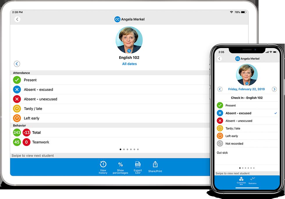 attendance app for teachers