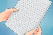 آموزش نوشتن حروف انگلیسی بر روی کاغذ (آموزش گام به گام تصویری)