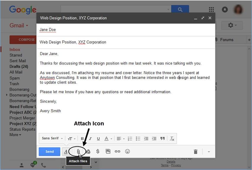 نکات بسیار مهم برای ایمیل کردن رزومه انگلیسی برای دانشگاهها یا شرکتها