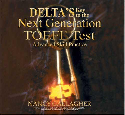 کتاب Delta TOEFL test