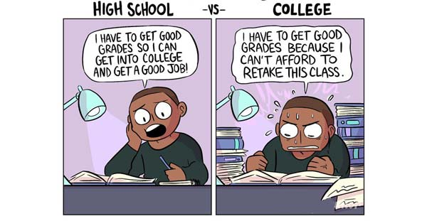 ۱۳ تفاوت کلیدی دبیرستان و کالج در خارج از کشور