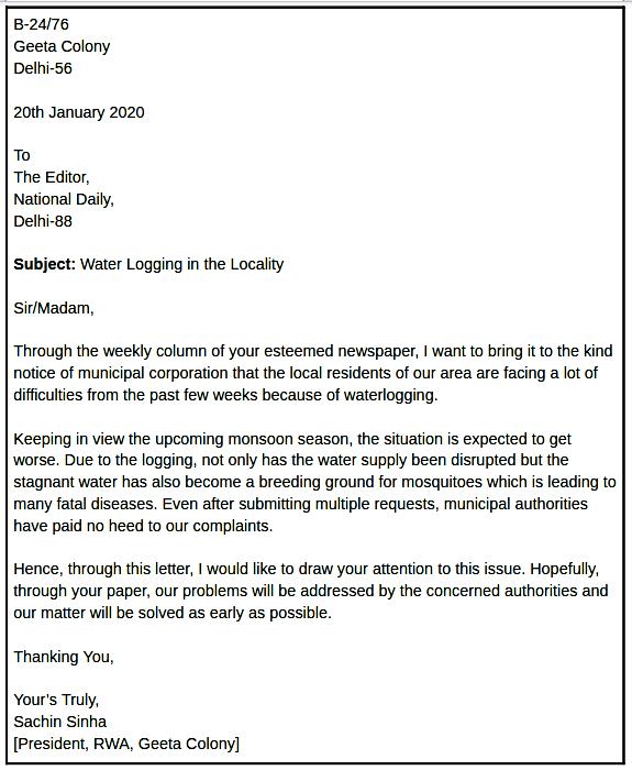 روش نوشتن نامه رسمی انگلیسی (و نمونه نامه رسمی)